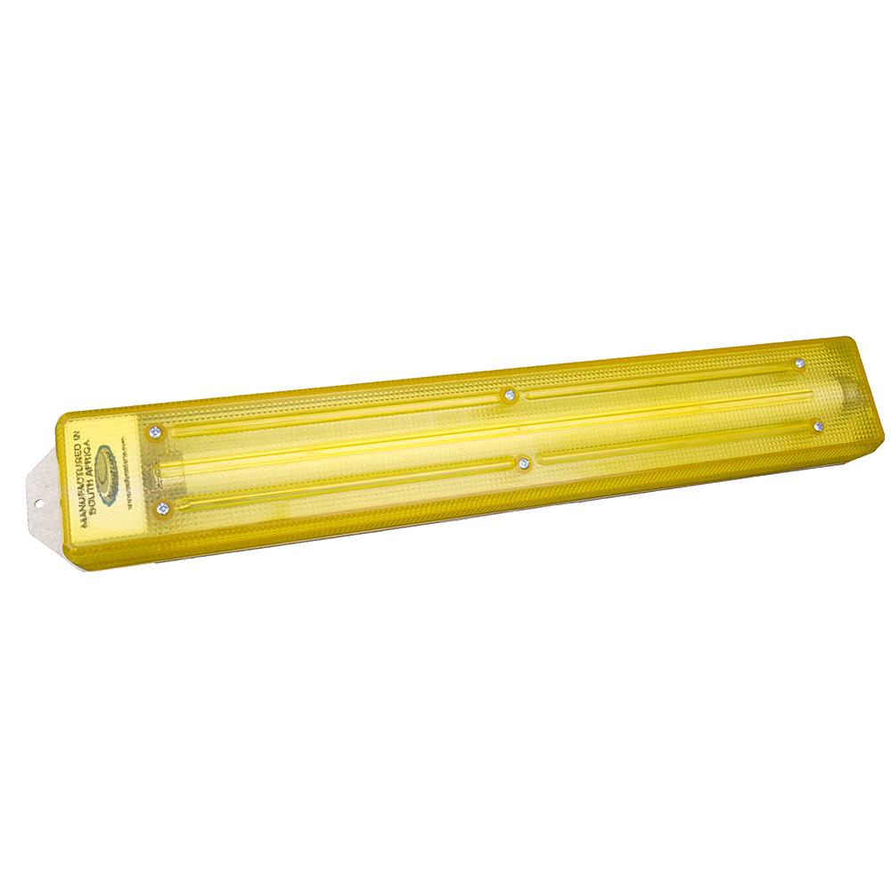 Fluorescent Light Fittings Johannesburg: 12Volt / 15W Caralight Yellow Diffuser