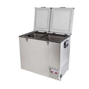 NL 110 Double Door Refrigerator & Freezer