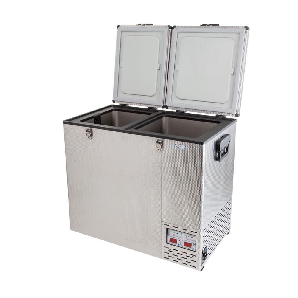 NL 110 Double Door Refrigerator & Freezer
