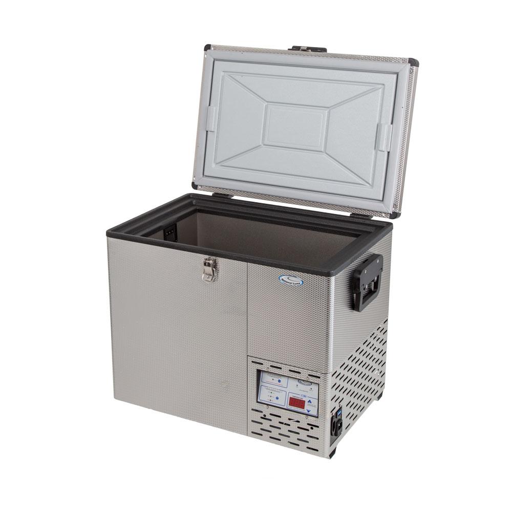NL 40 Stainless Steel Refrigerator & Freezer