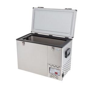 NL 55 Stainless Steel Refrigerator & Freezer