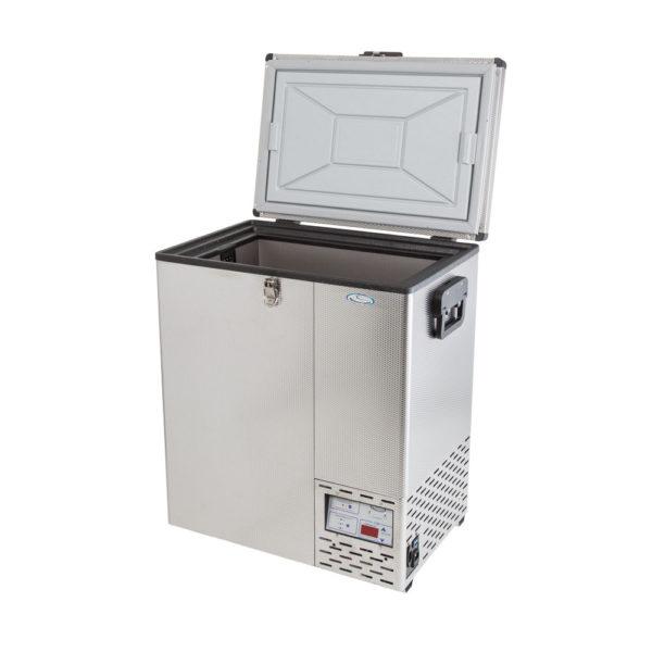 NL 65 Stainless Steel Refrigerator & Freezer