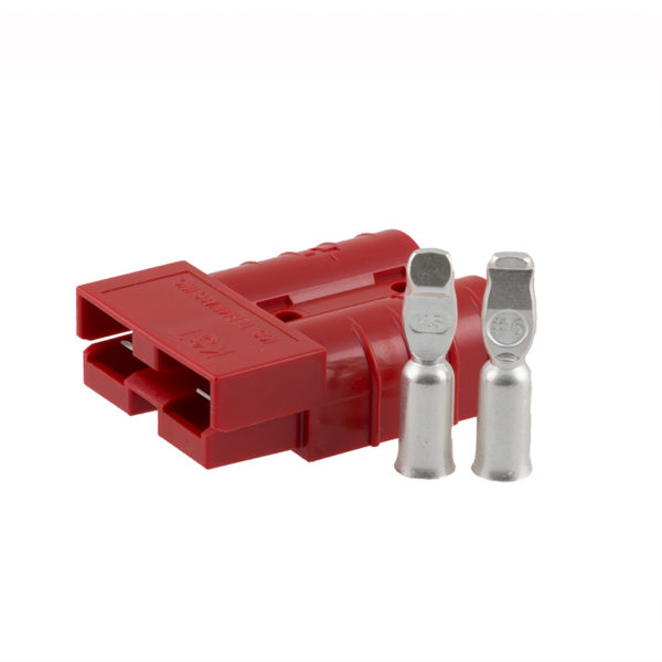 50-Amp Coupler Red