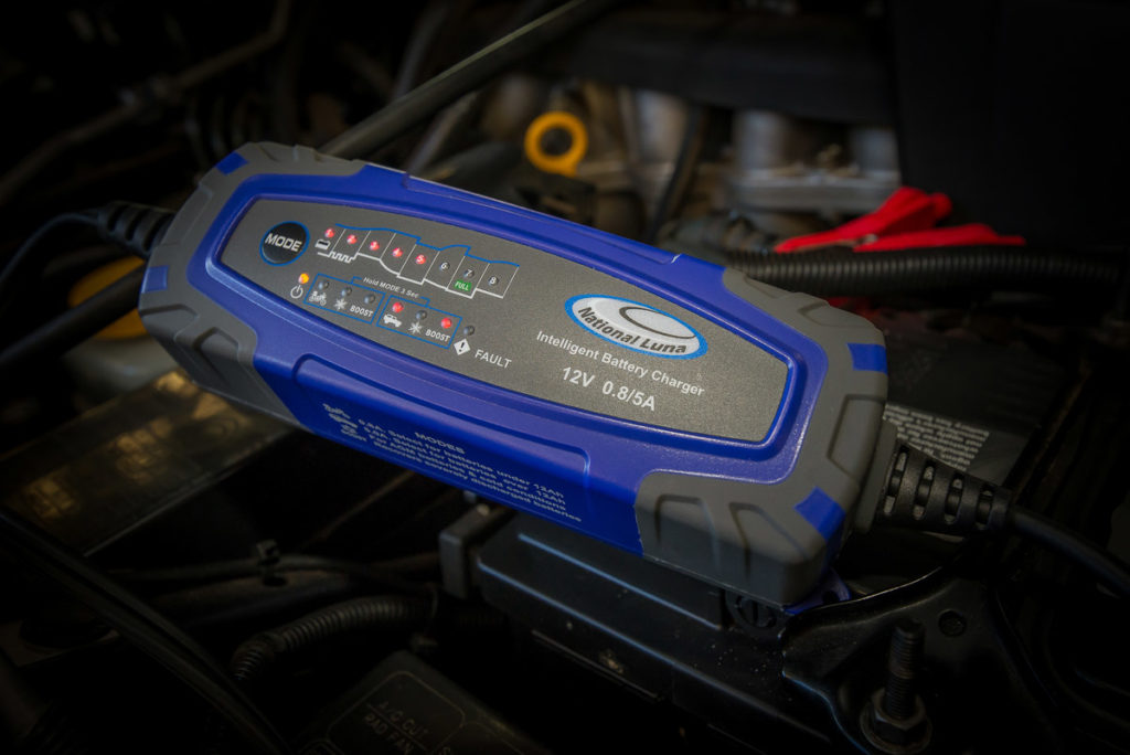 Battery charge in engine bay